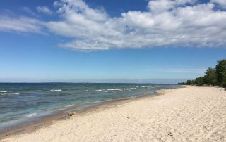 Travel story photo - Prince Edward County Beach -