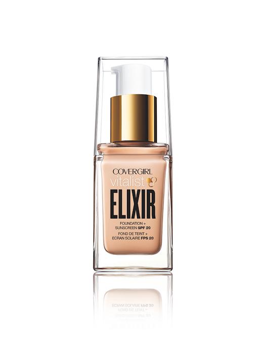 Covergirl Vitalist Elixir Foundation in bottle
