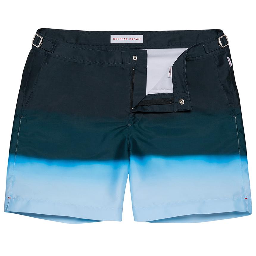 Orlebar Brown Bulldog Navy Degrade men's Swim Shorts