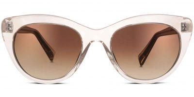 Warby Parker Tilley Sunglasses in Grapefruit (pink)