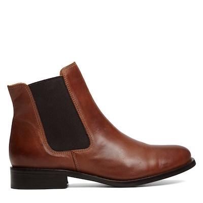 Little Burgundy Chloe Cognac Boot