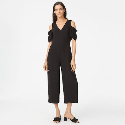 Club Monaco Sabellah black jumpsuit
