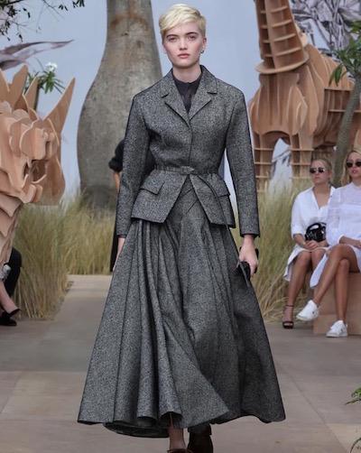 Dior Couture 2017 Runway Instagram Image