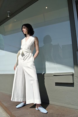 Ewanika white Jem jumpsuit