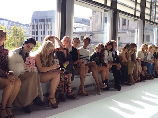 Editors at Fashion Week Guests