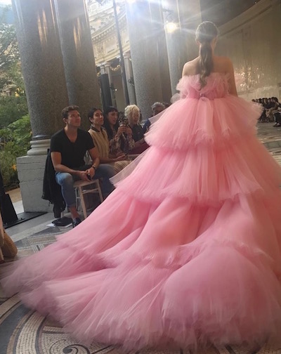 Giambattista Valli Couture Runway Instagram