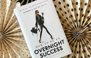Shot of the cover of How to Be an Overnight Success