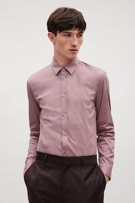 Slim-fit cotton shirt COS.