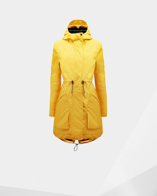 Hunter Yellow Rain Coat