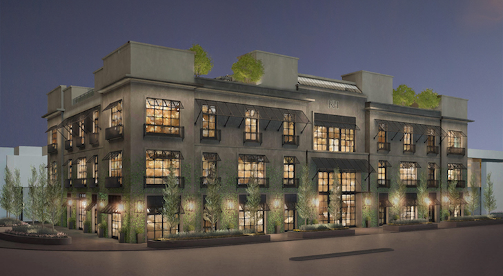 Rendering of Restoration Hardware store opening in Toronto