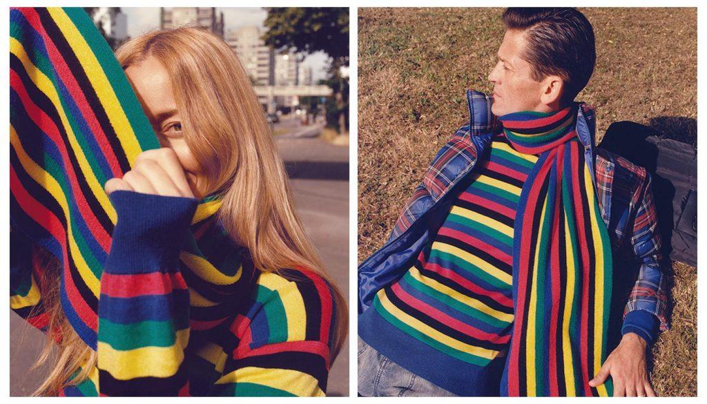 Uniqlo JWA Scarf and Sweater
