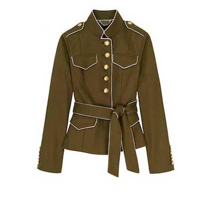 Olivia Palermo x Banana Republic Belted Military Jacket