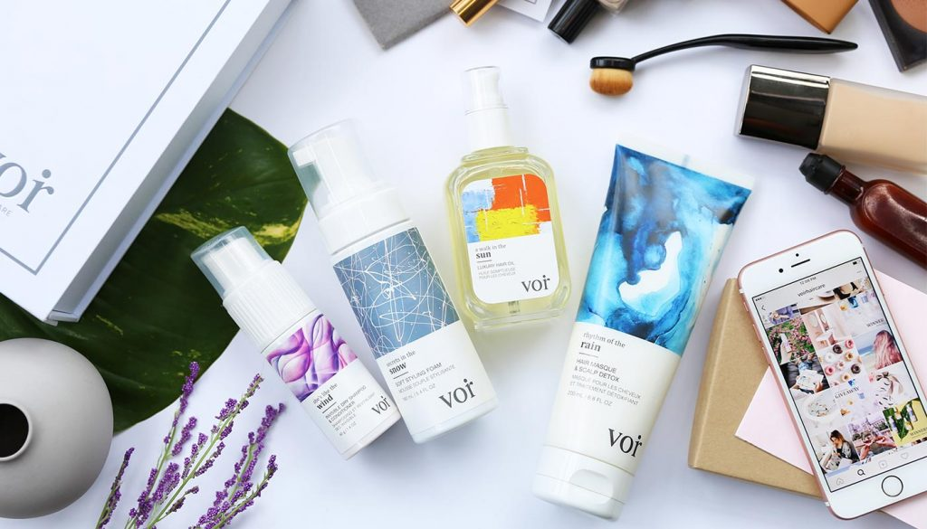 Voir Haircare Product Line
