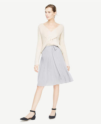 Pleated Full Skirt, $128 at Ann Taylor.