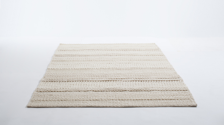 Knit rug, $700 at EQ3.