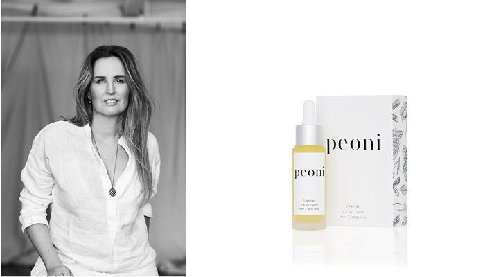 Jennifer Brodeur, founder of Peoni
