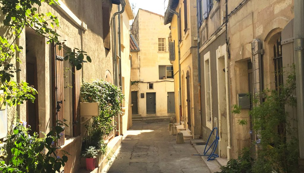 The streets of Arles, France