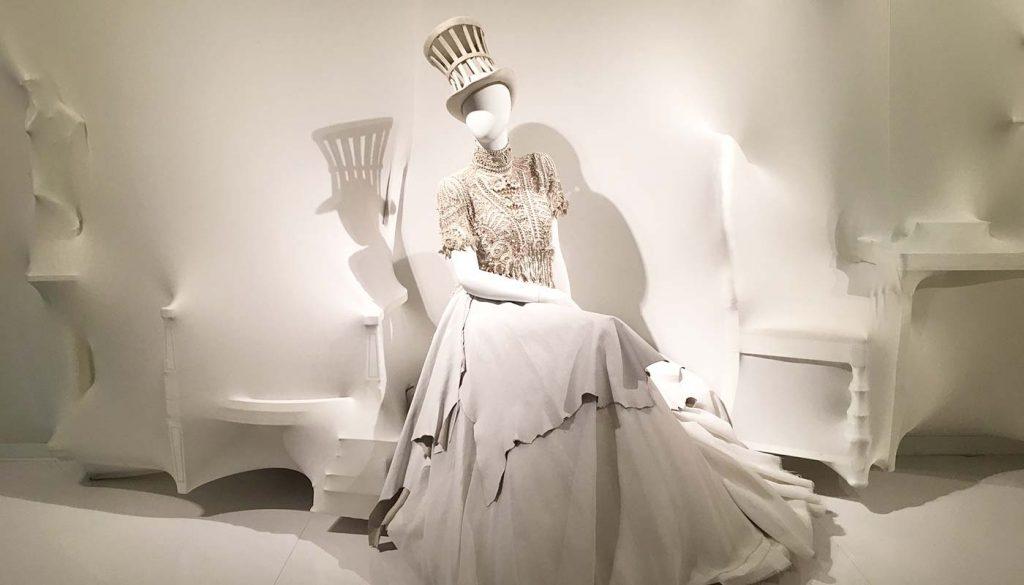 Photo from Jean Paul Gaultier exhibit in Montreal