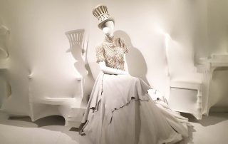 Photo from Jean Paul Gaultier exhibit in Montreal