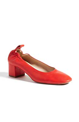 Everlane Red Day heel