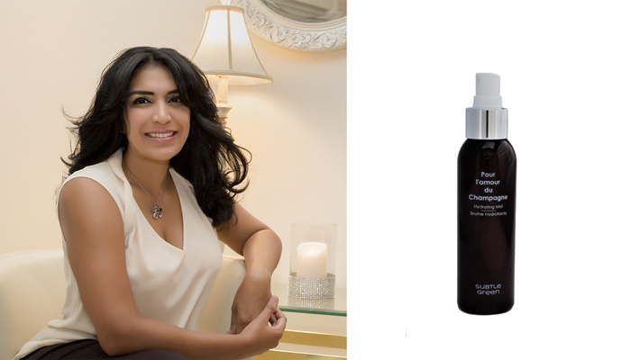 Chitra Desikan, founder of Subtle Green
