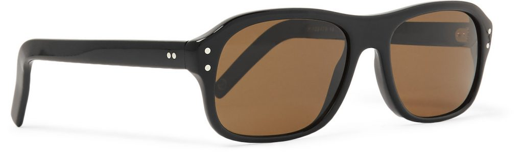 Cutler and Gross x Kingsman Eggsy's Square-Frame Acetate Sunglasses