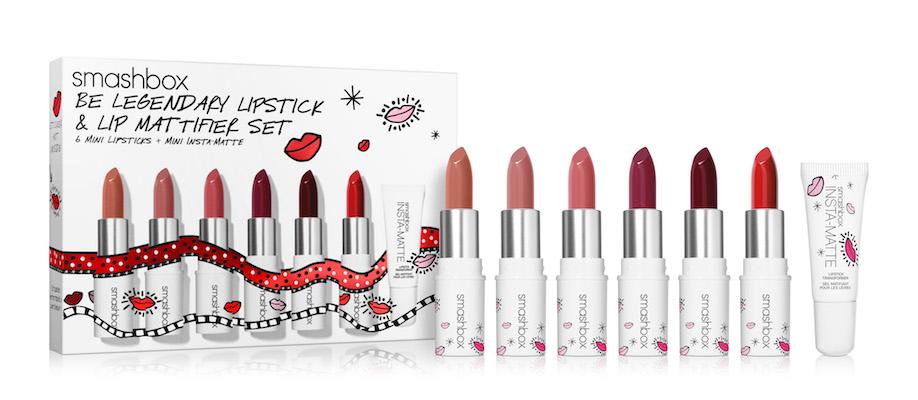 Smashbox Be Legendary Lipstick & Lip Mattifier Set
