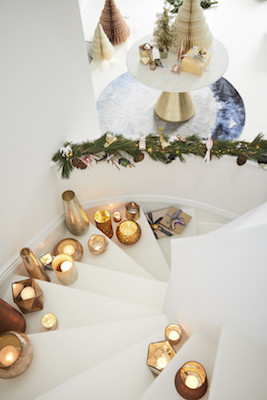 West Elm Holiday Decor - candles