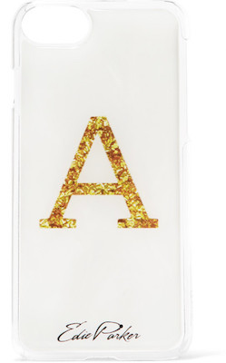 Edie Parker + goo.ey printed plastic iPhone 6 and 7 Case, $50 USD at net-a-porter.com