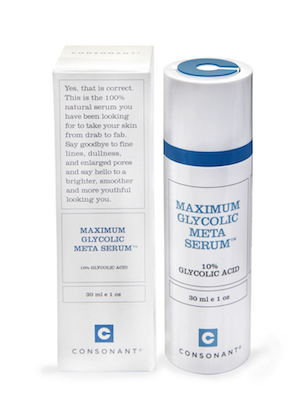 Consonant Skincare Maximum Glycolic Serum, $60 at consonantskincare.com.