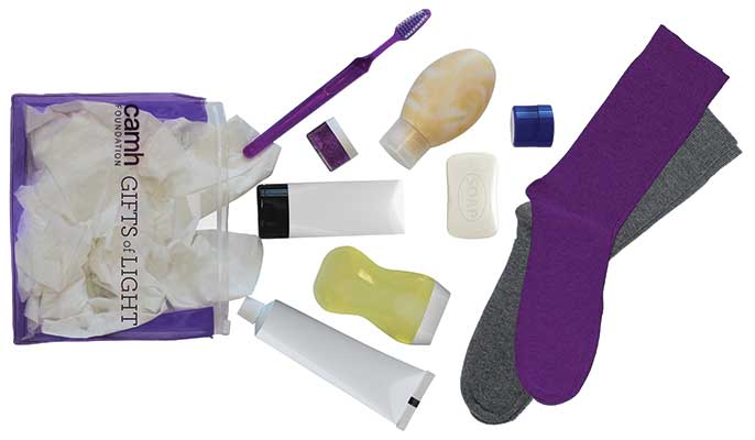 Gifts of Light Emergency Kit, $34 at CAMH Foundation.