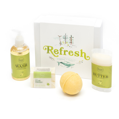 Rocky Mountain Soap Co. Refresh Gift Set, $40.45 at rockymountainsoap.com.