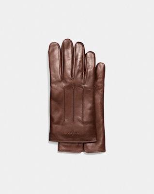 Coach Tech Nappa Gloves, $190 at coach.com.