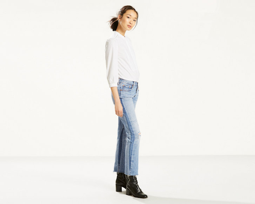 Levi's 501 Cropped Jeans For Women, $108 at levi.com.