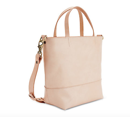 Lowell Atwater Petit Leather Tote, $345 at Holt Renfrew.