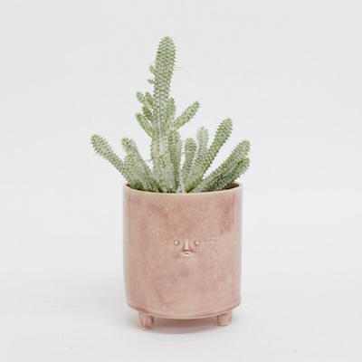 Rami Kim Three-Legged Pink Face Planter, $135 at Easy Tiger Goods.