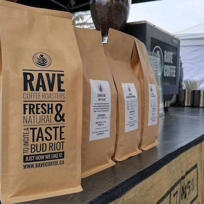 Rave Coffee Subscription, starting at $18.50 per month at Rave Coffee.