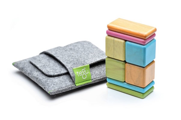 Tegu 8 Piece Pocket Pouch Magnetic Wooden Block Set, $39 at amazon.ca.