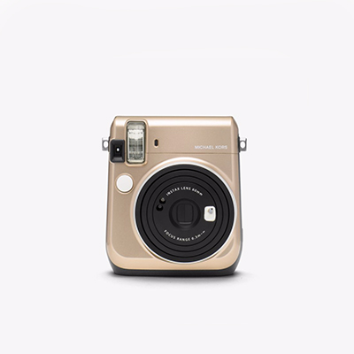 Michael Kors x FujiFilm Instax Camera, $178 at michaelkors.ca.