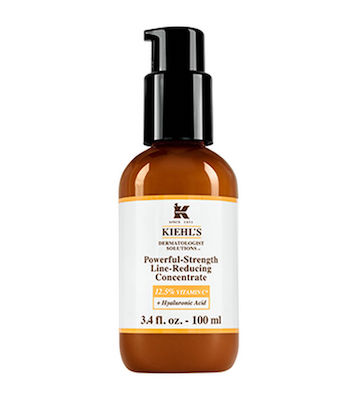 Kiehl's Powerful-Strength Line Reducing Concentrate Vitamin C Serum, $79 for 50 mL at kiehls.ca.