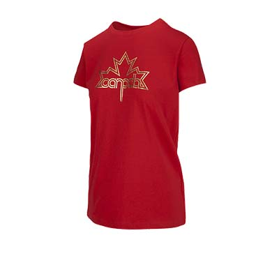 Under Armour Team Canada Performance Leaf Graphic T-Shirt