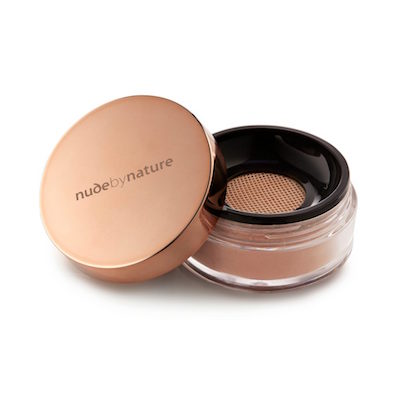 Nude by Nature Radiant Loose Powder Foundation, $36 at Shoppers Drug Mart and nudebynature.com.