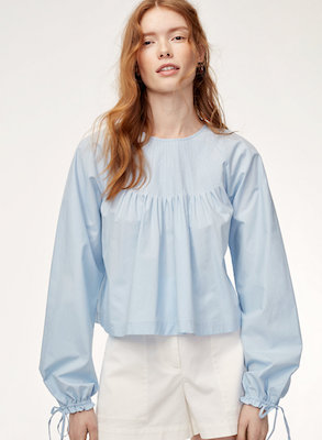 Wilfred Enola Blouse, $75 at Aritzia.