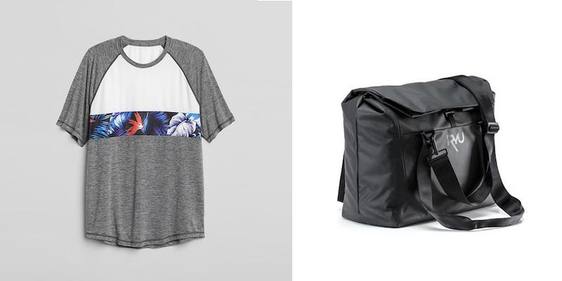 T shirt & Gym Bag