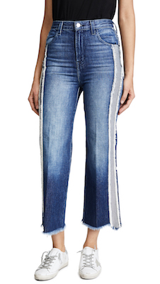 J Brand Joan Crop Jeans, $110.50 (from $368.32) at shopbop.com.