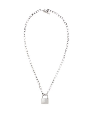 Lauren Klassen Padlock Necklace, $565 at jonathanandolivia.com.