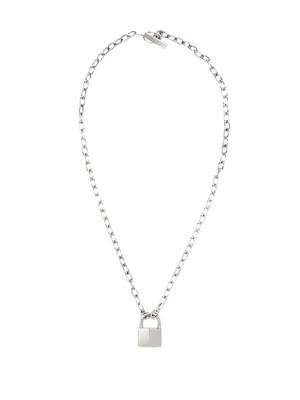 Lauren Klassen Padlock Necklace, $565 at jonathanandolivia.com.