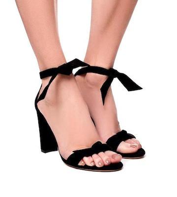 Alexandre Birman Clarita Block Heel Sandal, $695 at theseptember.com.