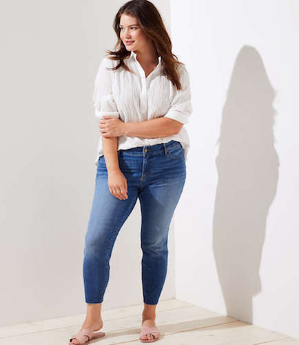 Fresh Cut Skinny Jeans, $109 at loft.com.