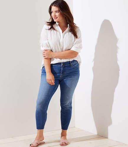 Fresh Cut Skinny Jeans, $109 at loft.com.